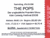 Eintrittskarte Popolski Show im Gloria, Köln - Köln Comedy Festival 2008