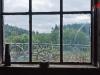 Blick aus der Schmiede ins Bergische Land