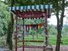 Freilichtmuseum Lindlar - Aus Abfall wird Einfall - Spielwiese für die Kinder direkt hinter dem Kiosk