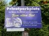 Privatparkplatz - ostfriesische Versteigerung