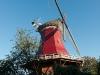 Die rote Mühle in Greetsiel