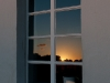 Mühlenfenstersonnenreflexion