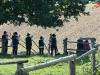 Alphornantworten etwas weiter unten - Alphornbläsertreffen Bergisches Land 2011