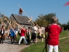 Aufmarsch der Bläser(innen) - Alphornbläsertreffen Bergisches Land 2011
