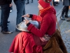 Aiyana Kanti spielt auf der Hang - entspannend spirituelle Sphärenklänge /Foto: Stefan Schmidt