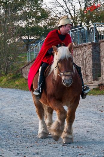 St. Martin macht sich auf den Weg - Freilichtmuseum Lindlar am 11.11.2011