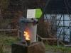 Feuer in Dosen weisen uns den Weg - Freilichtmuseum Lindlar am 11.11.2011