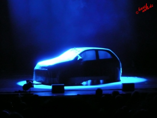 Die Ruhe vor der Show: AutoAuto! Rythm & Crash Show im Musical Dome Köln - 30.12.2011