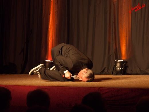 Sebastian Pufpaff im Parkhotel Nümbrecht - 14.01.2012 /Foto: Stefan Schmidt