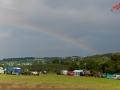 Regenbogen über