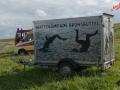 Schlickschlittenrennen 2012 - Werbung für die Wattolümpiade Brunsbüttel