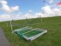 Schlickschlittenrennen 2012 - In Wartestellung fürs Schlickfußballturnier