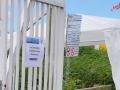Schlickschlittenrennen 2012 - Wegweiser für danach ... zu den Duschen