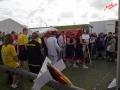 Lagebesprechung vor dem 29. Schlickschlittenrennen Wältmeisterschaft - Krummhörn-Greetsiel /Foto: Stefan Schmidt