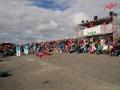 Frische Brise und heiße Sama-Rhythmen beim 29. Schlickschlittenrennen Wältmeisterschaft - Krummhörn-Greetsiel /Foto: Stefan Schmidt