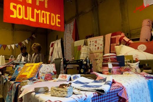 Textile Deko - Bauernmarkt im Freilichtmuseum Lindlar