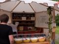 Körnerfladen mit Gemüse - Bauernmarkt im Freilichtmuseum Lindlar