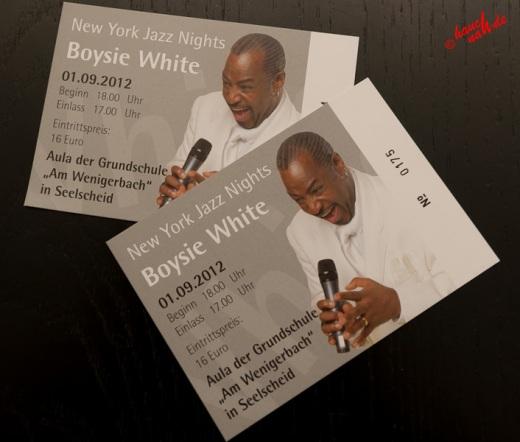 New York Jazz Nights in Seelscheid - Boysie White 01.09.2012