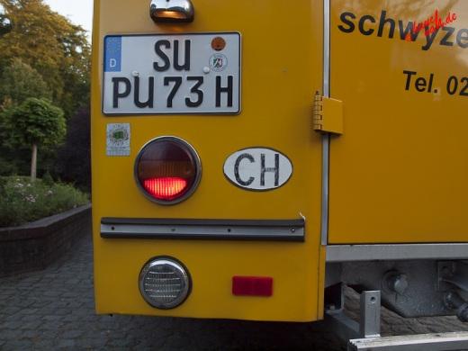 Schwyzer Poschti - Mucher Musik Nacht 2012 /Foto: Stefan Schmidt