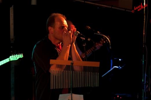 Wolle, Frontmann von der RSW-Band - Mucher Musik Nacht 2012 /Foto: Stefan Schmidt