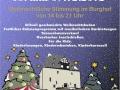 Weihnachtsmarkt Burg Overbach in Much - Plakat