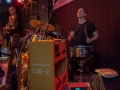 Richard Huntley gibt den Takt an: Hazmat Modine im Herbrand's Köln - 28.05.2013 /Foto: Stefan Schmidt