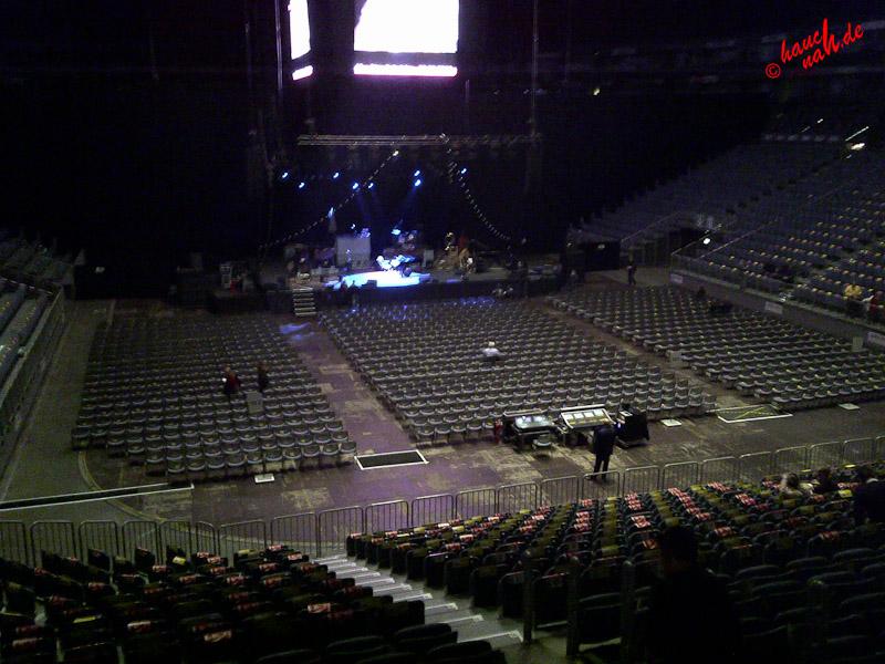Klappsitz in der Lanxess Arena Köln