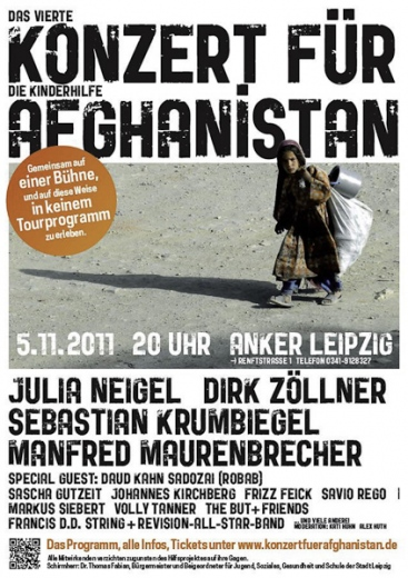 Konzert für die Kinderhilfe in Afghanistan