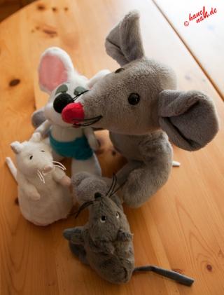Ist die Katz aus dem Haus, tanzen die Mäuse auf dem Tisch