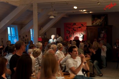 Boysie White - New York Jazz Nights im Kunsthaus Seelscheid /Foto: Stefan Schmidt