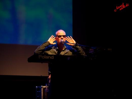 Danuzs sieht so gut wie gar nichts und hört auch noch schlecht - Popolski Show in Boppard /Foto: Stefan Schmidt