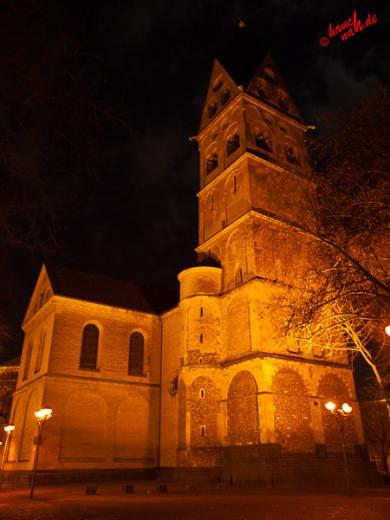 Der Weg zum Gloria vorbei an St. Aposteln - 09.12.2011 /Foto: Stefan Schmidt