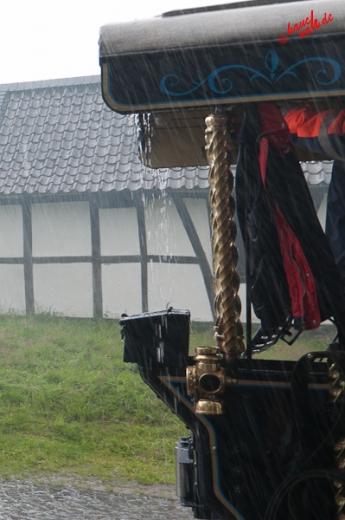 Bergischer Landregen - Volldampf voraus im Freilichtmuseum Lindlar
