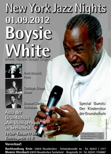Boysie White - New York Jazz Nights