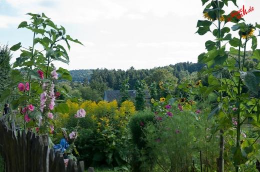 Blick übern Gartenzaun - Bergisches Freilichtmuseum Lindlar