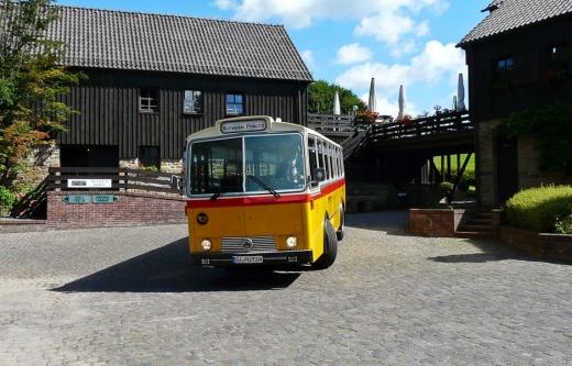 Der Schwyzer Poschti - Mucher Musik Nacht 07.09.2012 /Foto: mit freundlicher Genehmigung der Mucher Tourist-Information