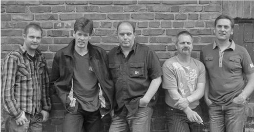 Rolf, Stan, Wolle (der Mann in der Mitte) & Band - Mucher Musik Nacht 07.09.2012 /Foto: mit freundlicher Genehmigung der Band