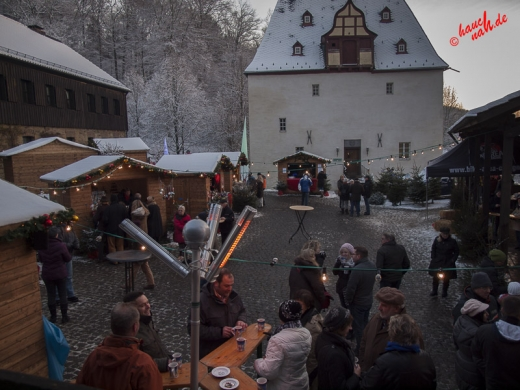 Weihnachtsmarkt auf Burg Overbach in Much /Foto: Stefan Schmidt